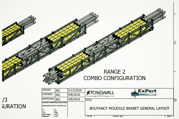 Buoyancy Module Basket