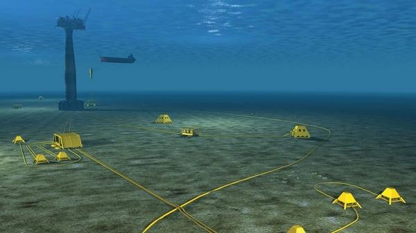 Draugen-under-water