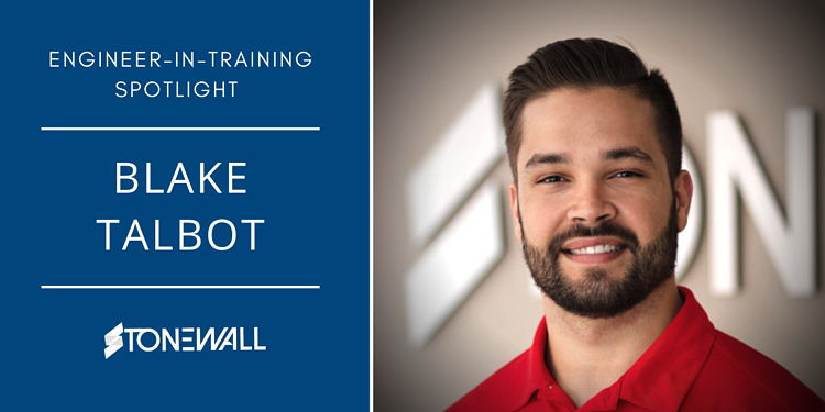 Engineer-In-Training - Stonewall - Blake Talbot EIT