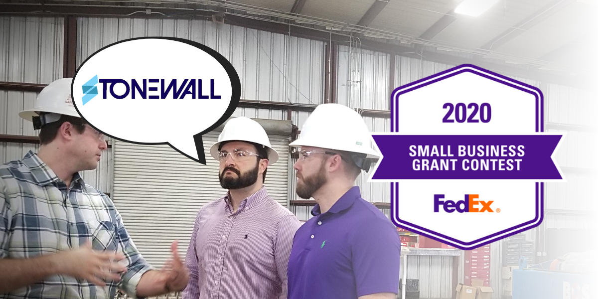 StoneWall and FedEx Small Business Grant Contest