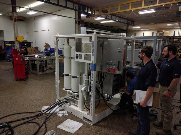 MPD Unit, Manage Pressure Drilling